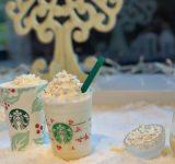 スタバの冬新作は自分好みにしやすいホワイトチョコレートスノー!