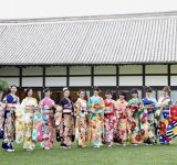 宮本茉由の振袖姿がかわいすぎ♡ オスカー美女11人の晴れ着撮影会に密着!