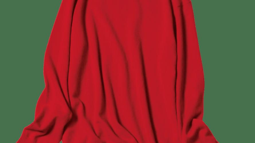 【明日なに着る?】色もサイズもパーフェクト♡ユニクロのメンズ限定・赤ニットが女子に大人気