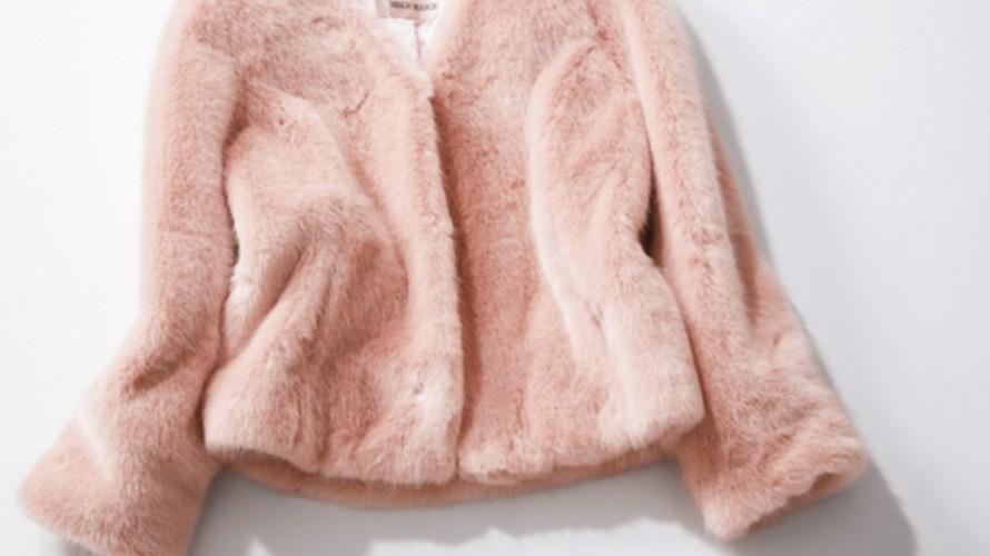 【明日なに着る?】はおるだけで絵になる♡淡ピンク×エコファーコート