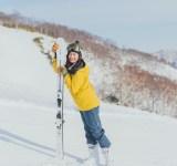 【スキーウエアSNAP】ゲレンデで映えも♡ ビビッドイエローのウエアが新鮮