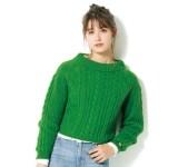 今っぽかわいい旬カラー♡グリーンニットのおすすめ冬コーデ4選