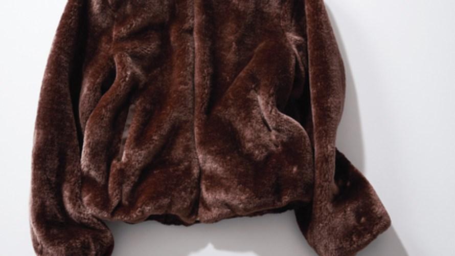 【明日なに着る?】チョコブラウンで大人っぽく♡¥6,900のエコファーコート