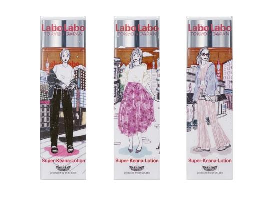 ラボラボがitabamoeとコラボ! 日本限定「TOKYO GIRL」パッケージ発売