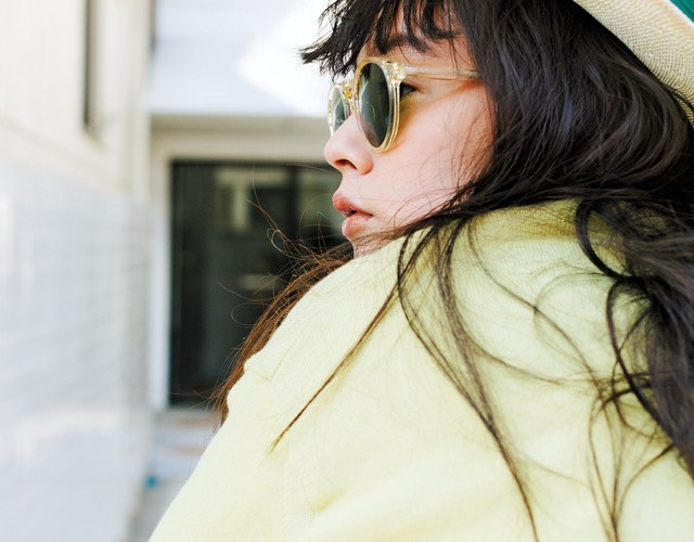 月9で話題のミステリアス美女・夏子が着こなす春デニム♡