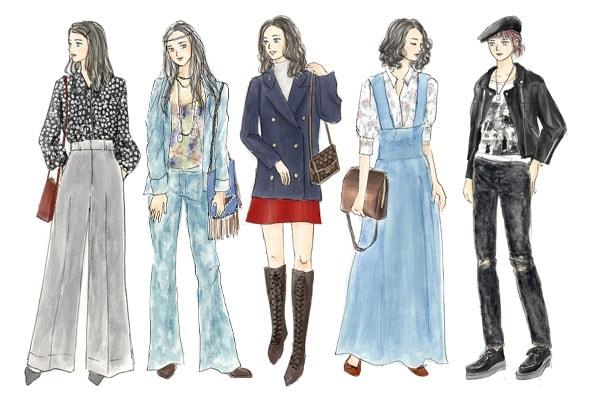 ベルボトム再燃中。「70年代ファッション」とは
