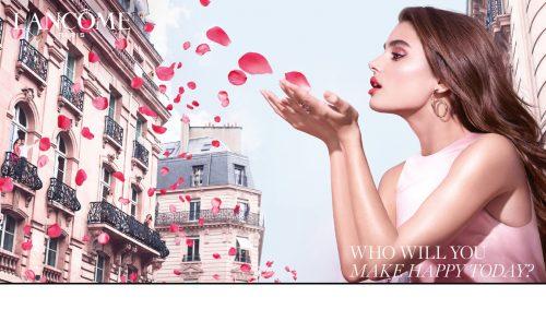 ローズに彩られたパリの街が六本木ヒルズに出現!ランコム期間限定イベント開催