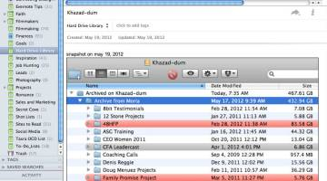 Using Evernote as a Virtual Hard Drive Library System