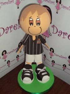 Jogador do Corinthians Castanho em Eva 3d - Dareliart
