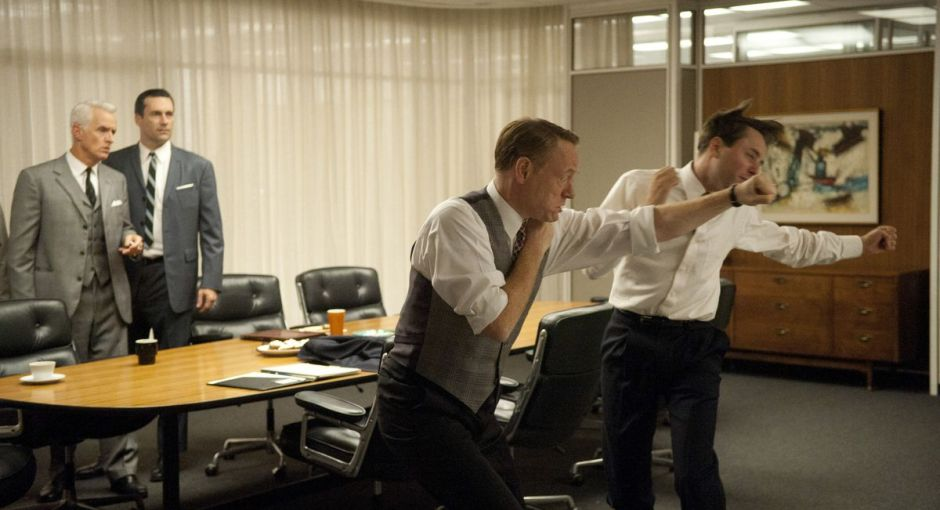 Mad Men Fight