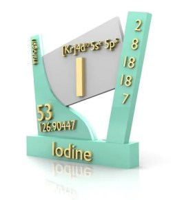 Iodine form Periodic Table and preventing iodine deficient people.