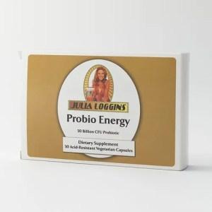 Julia Loggins Probio Energy 30 Billion CFU Probiotic