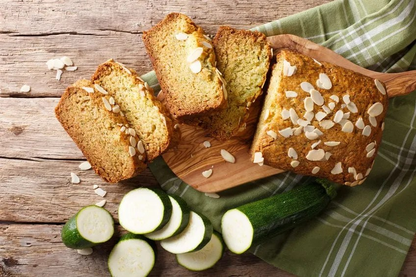 Julia's Favorite Zucchini Bread Recipe