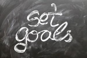 Setting goals helps motivation