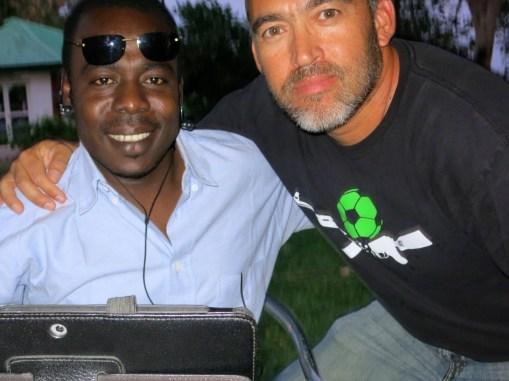 Gabriel and Darfur United Alum Iggy Photo: Sara-Christine/i-ACT