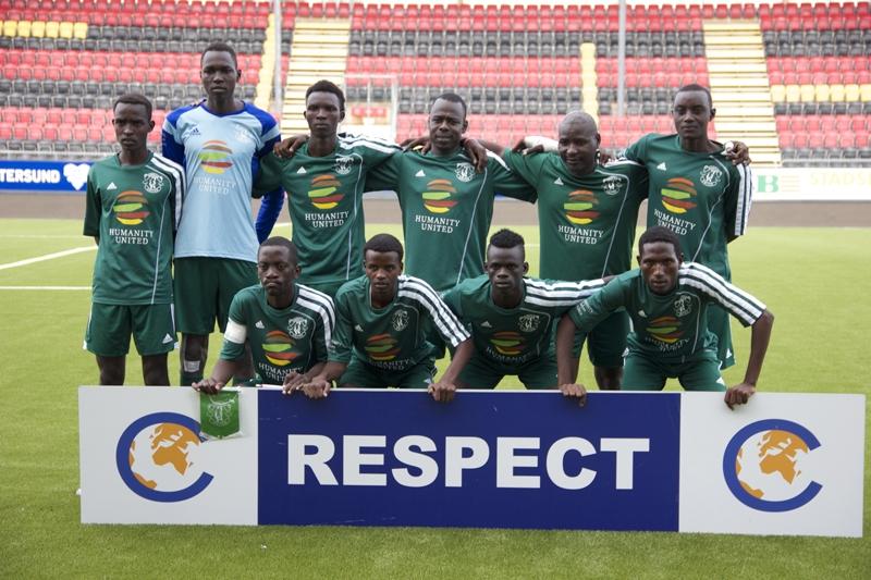 2017 Darfur United Men's Soccer Training Camp Östersund, Sweden