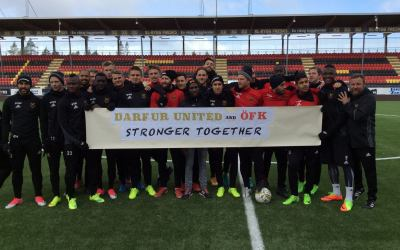 Official Partnership between ÖFK and Darfur United: The Zero Point One Initiative