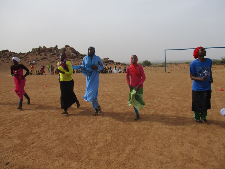 The first-ever soccer team for Darfuri refugee women, coming soon!