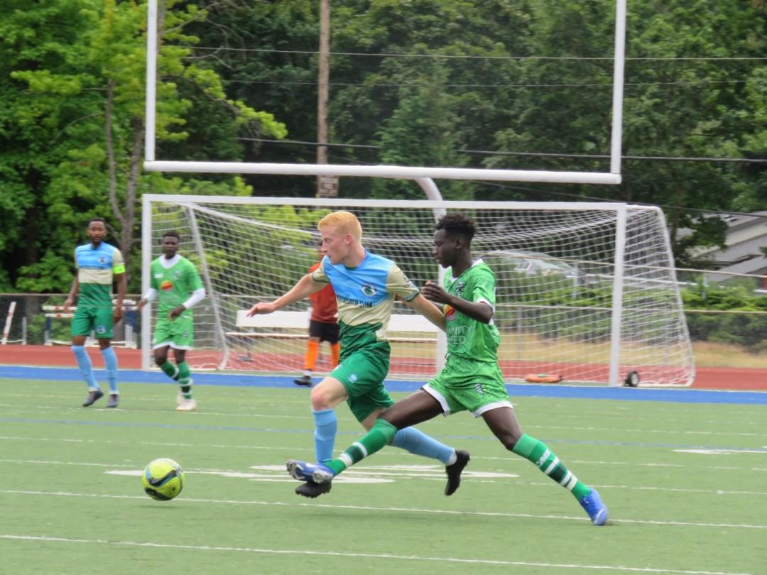 Darfur United vs. Cascadia