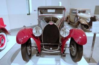 More Bugattis on display.