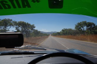 The Great North Road, Zambia.