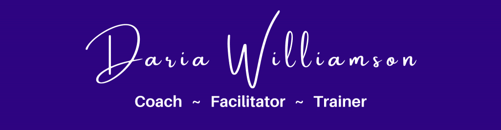 Daria Williamson – Coach, Facilitator, Trainer