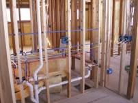 wood frame consruction
