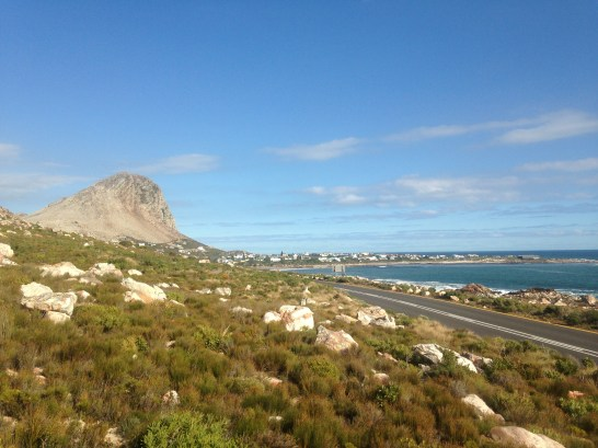 A view from our drive along the coast