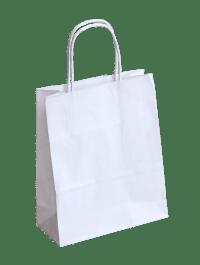 nosilna natron vrečka bela