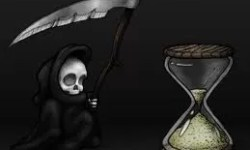 Pictue of little grim reaper