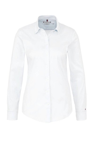 tommy hilfiger slim fit blouse wit wit 8718771978900 683x1024 - 9 mode items die het investeren waard zijn