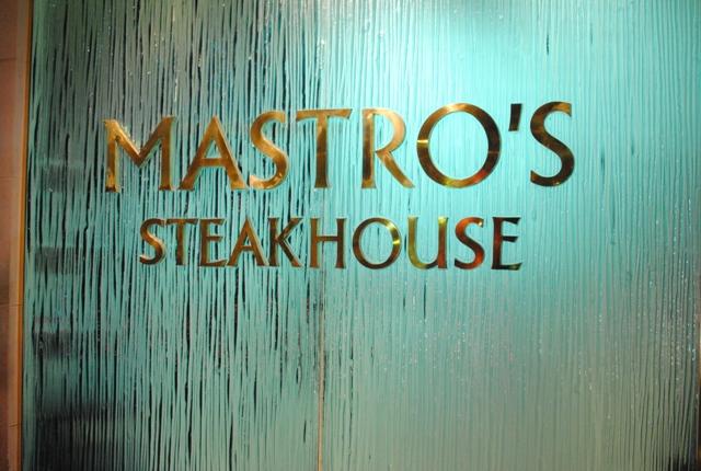 Mastro's Beverly Hills – 1/29/11