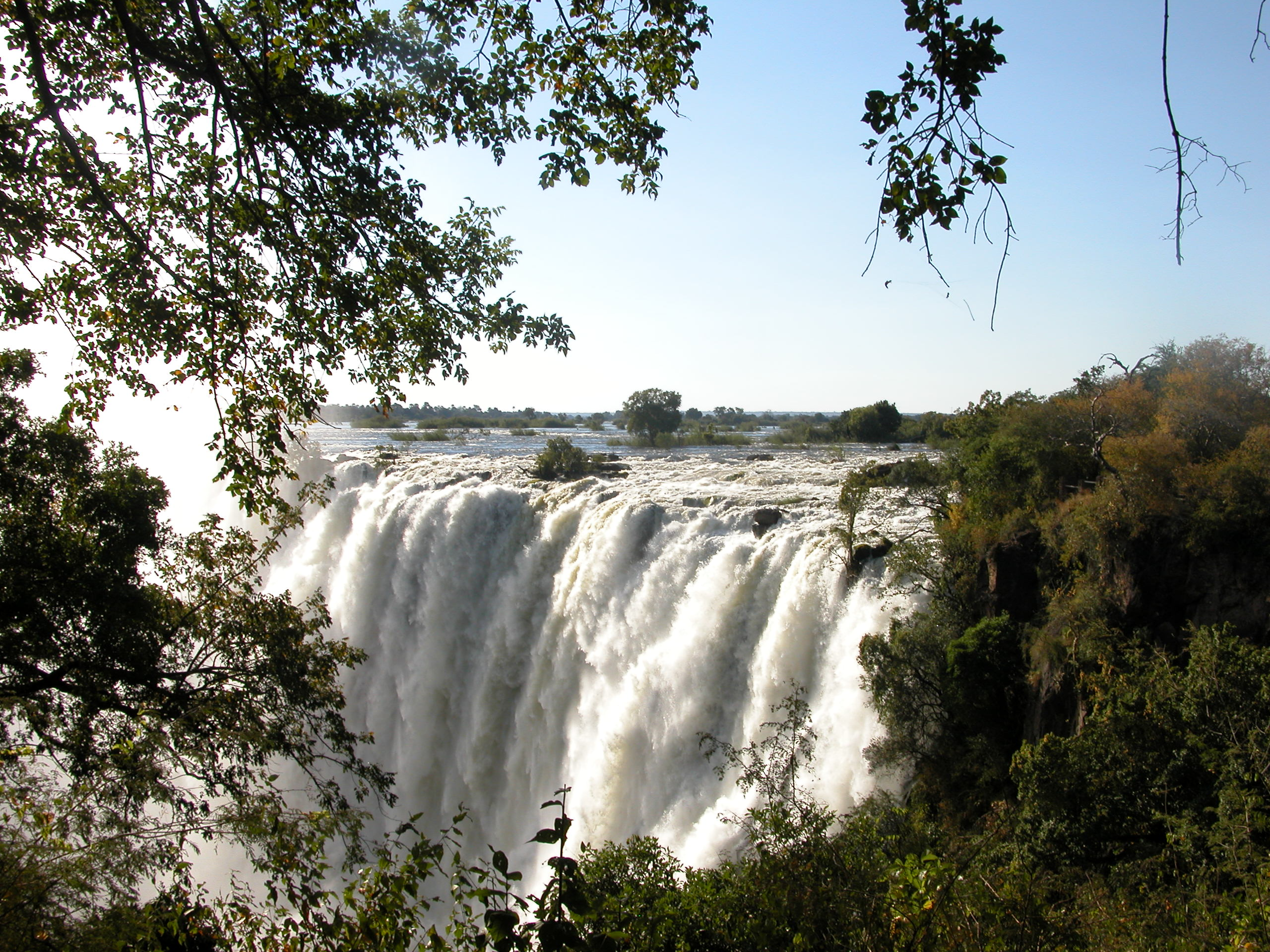 Vic Falls, one of the 7 Natural Wonders of the World!