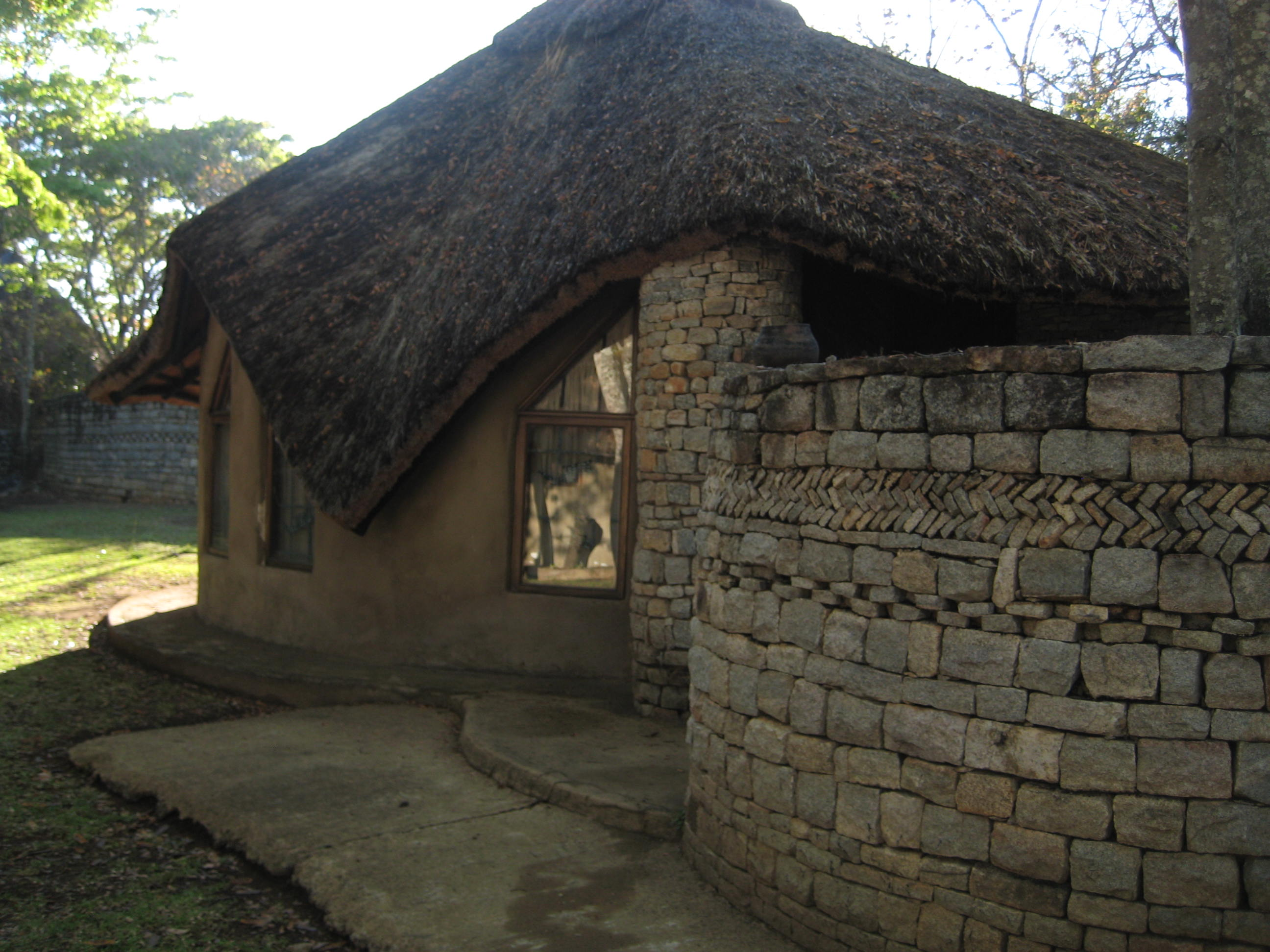 One of the lodges at the complex