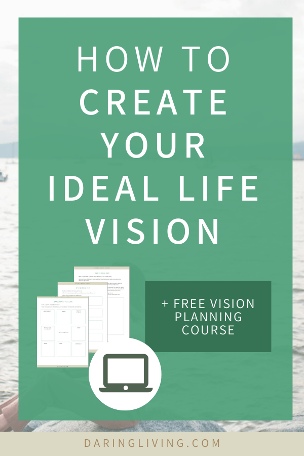 What are you working toward? Creating your ideal life vision will help you have the clarity and motivation to set the right goals for yourself. Learn different tips in the FREE course to design your future and attract what you desire. Daring Living Blog daringliving.com — life coaching for working millennials #daringliving #lawofattraction #lifeplanning #goalsetting #personaldevelopment #lifecoaching