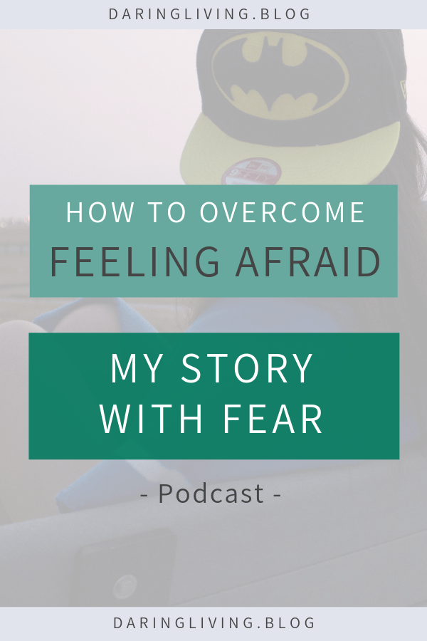 How do you overcome feeling afraid? Fear is a negative emotion. Often, we want to hide from it. There are many deep fears we have. We're afraid of the unknown, of failure, or abandonment. What if we can use fear as a compass to guide us instead of us hiding from us? In this podcast episode, I share about my relationship with fear and action steps on how to manage fear. Daring Living Podcast #daringliving #fear #personaldevelopment #selfgrowth #emotion #negativeemotion #podcast #selflove #lifecoaching #lifecoach