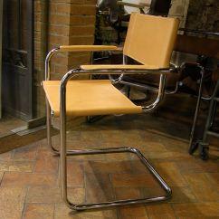 Mart Stam Chair Light Wood Upholstered Dining Chairs Bauhaus Dario Alfonsi