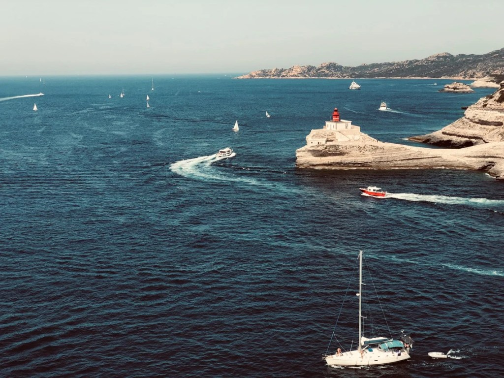 road to Corsica iphone photography Bonifacio