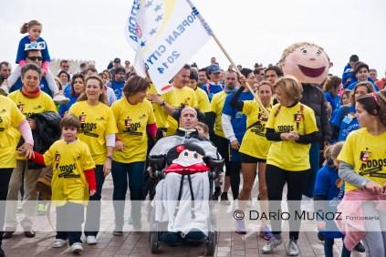 Carrera de Relevos por la Discapacidad