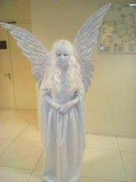 Живая статуя Ангел-2