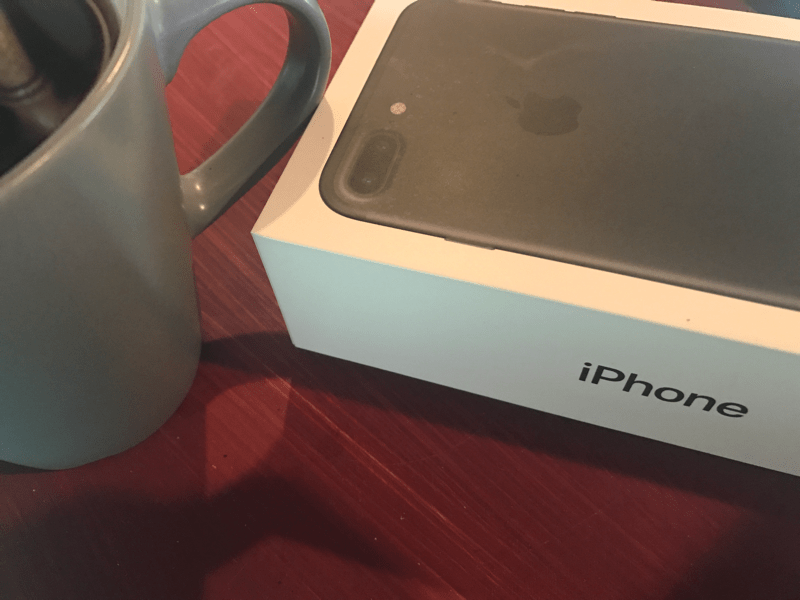 iPhone and Tea