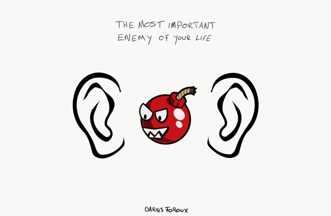 How To Fight The Enemy That Lives Between Your Own Two Ears