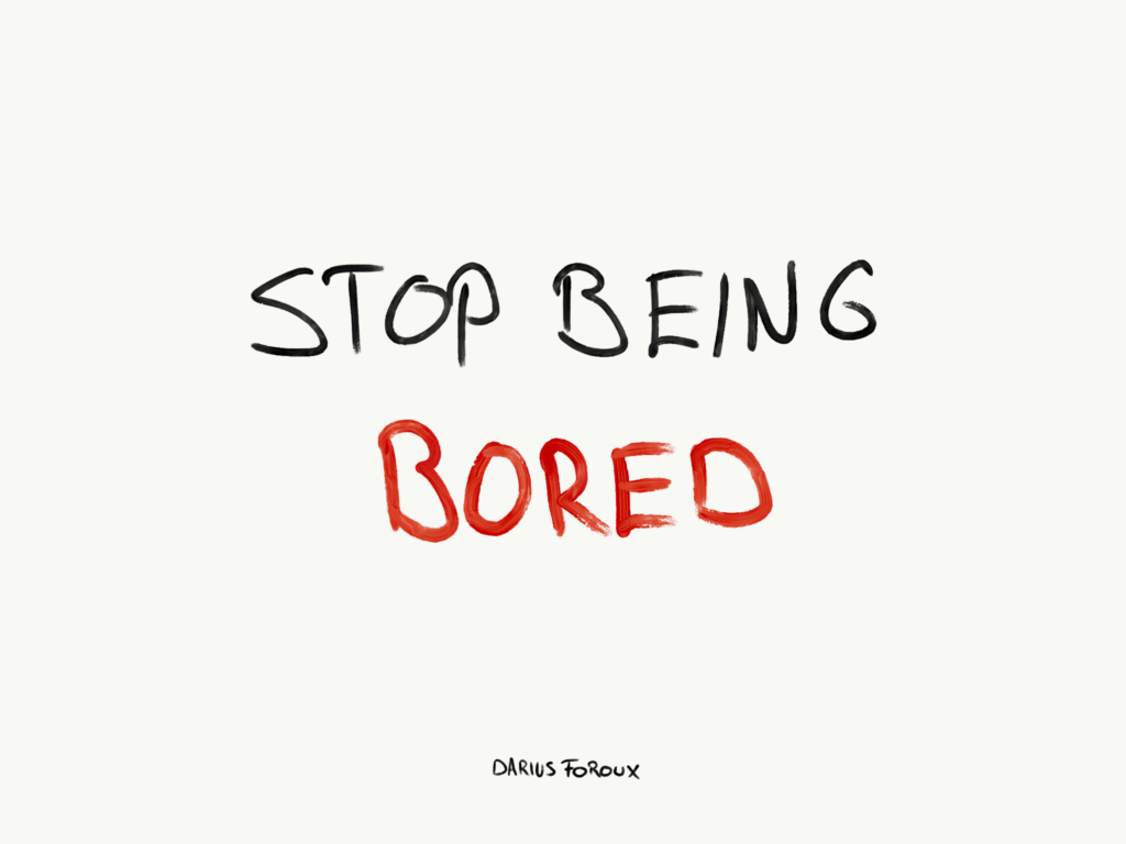 Don't Worry About Job Burn-Out. Worry About Job Boredom