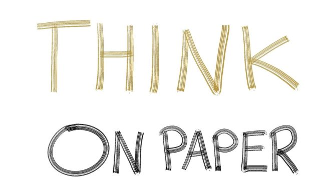 think on paper