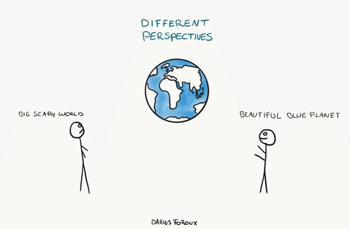 Arthur Schopenhauer - perspective