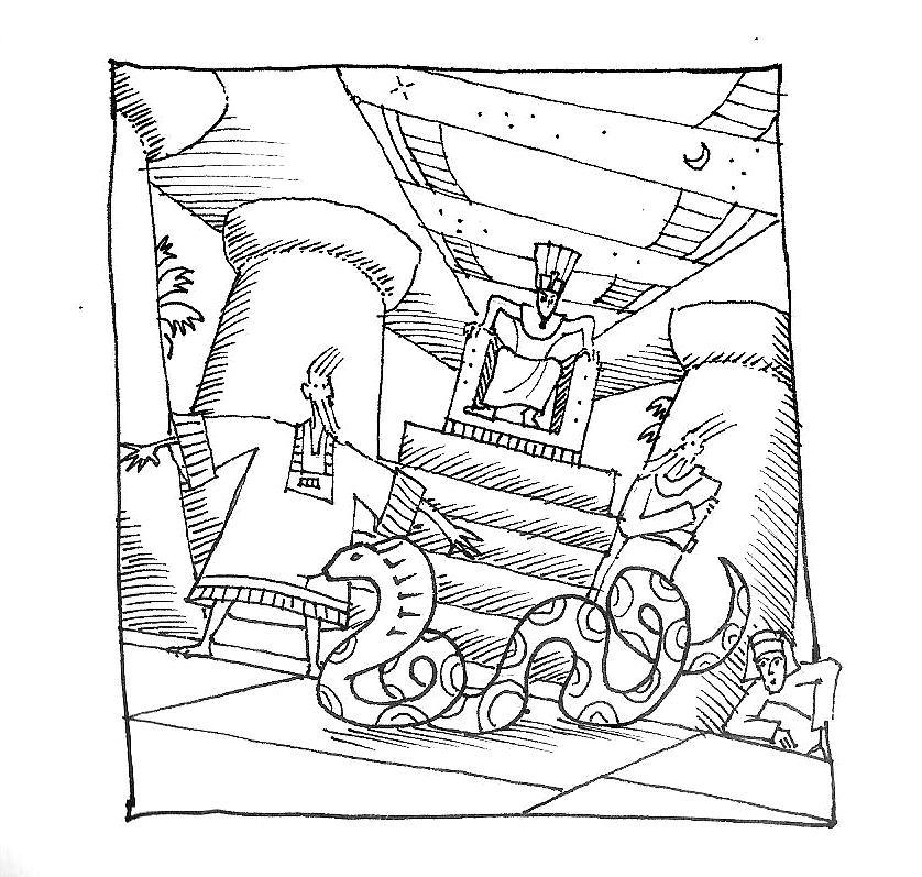 Illustration Diary – Parshat Va'eira