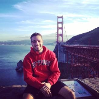 Visiting Vista Point in San Fransico, CA