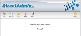 Certyfikat SSL dodany