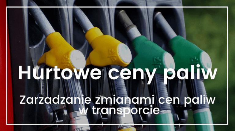 hurtowe ceny paliw ORLEN
