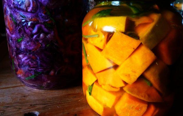 Kimchi-Squash fermenting